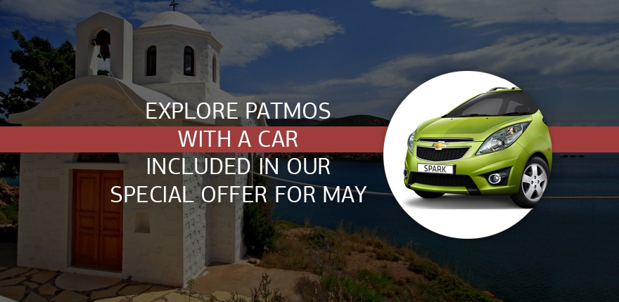 Explore Patmos in May with our special offer!